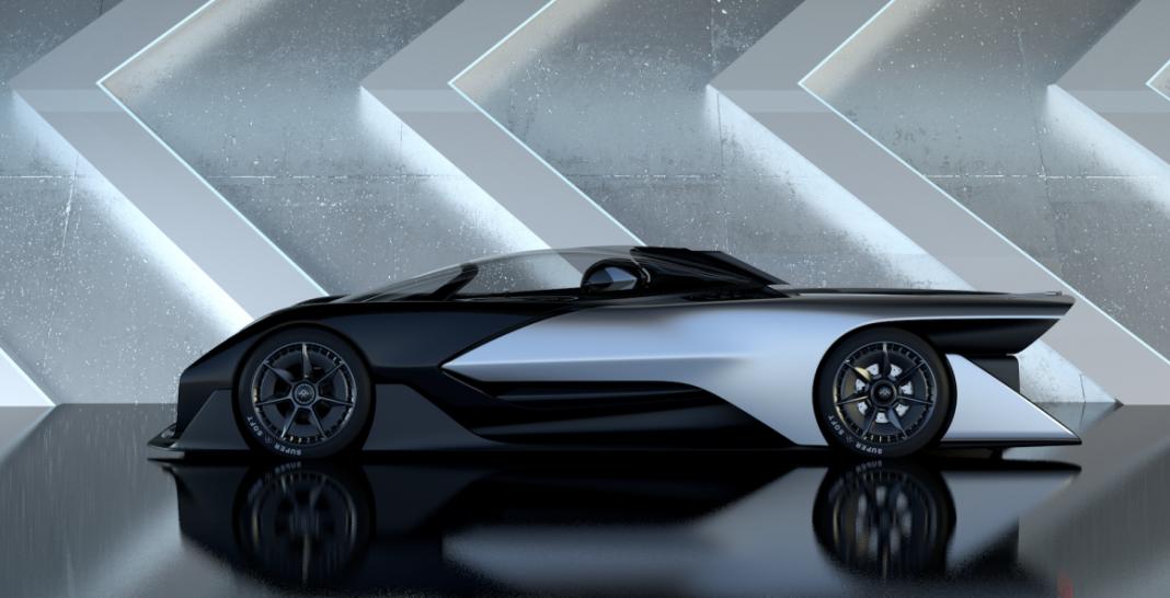 Faraday Future разрешили испытывать беспилотники на дорогах общего пользования