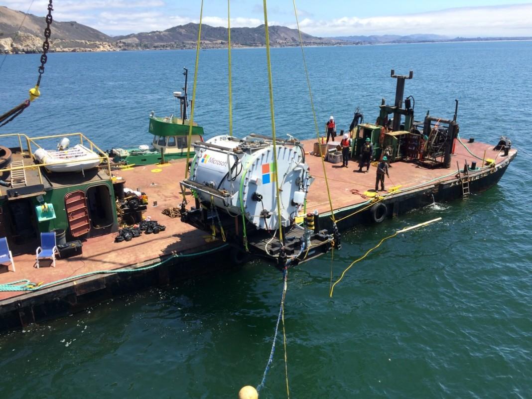 Microsoft протестировала подводный дата-центр