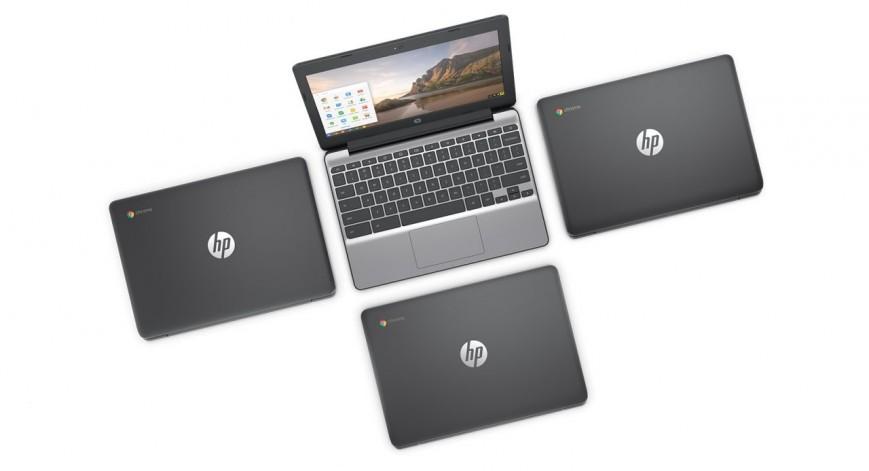 Обновленный HP Chromebook 11 G5 поддерживает Google Play и Android-приложения