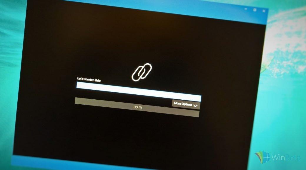 Short.y быстро и просто создает сокращенный URL в Windows 10