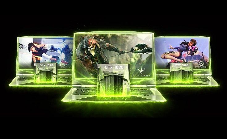 Новая эра в сегменте игровых ноутбуков началась. Nvidia представила мобильные видеокарты GeForce GTX 1080, GTX 1070 и GTX 1060