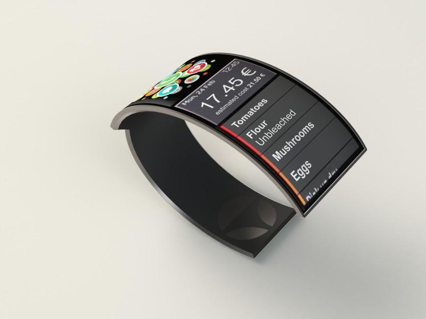 Концепт умного браслета Watch Yourself победил в конкурсе Electrolux