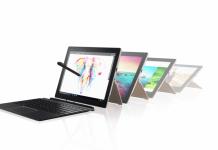 CES 2017: Lenovo представила гибридный планшет IdeaPad Miix 720 со стилусом Active Pen 2