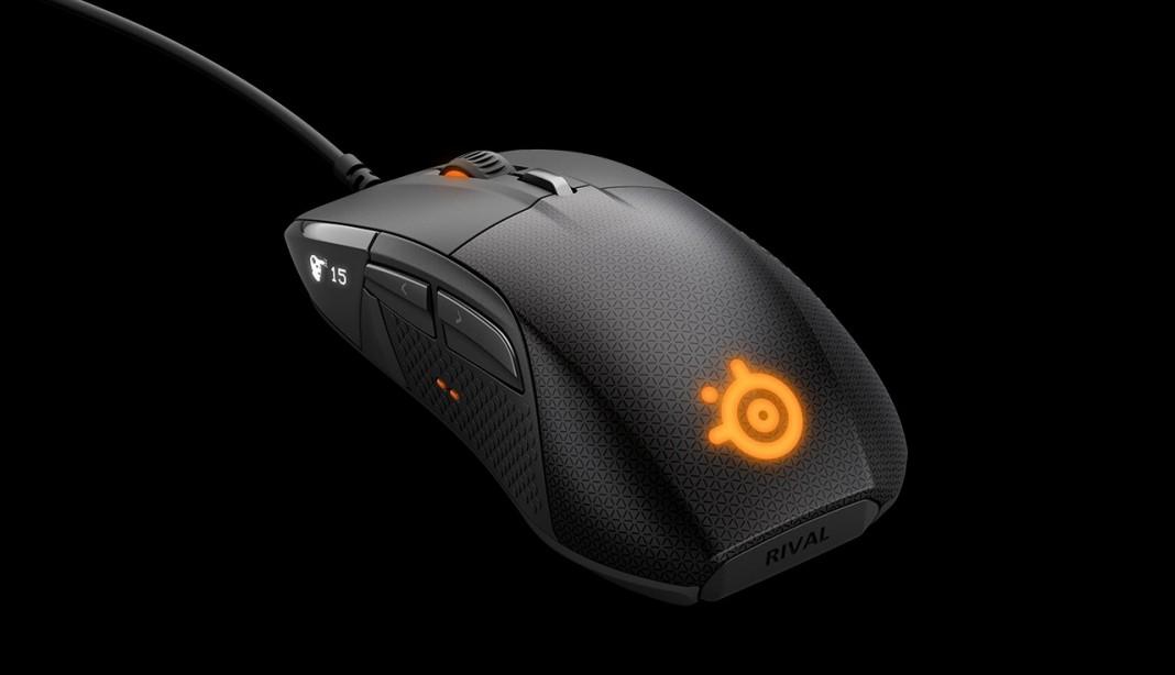 Игровая мышь с OLED-дисплеем и обратной связью