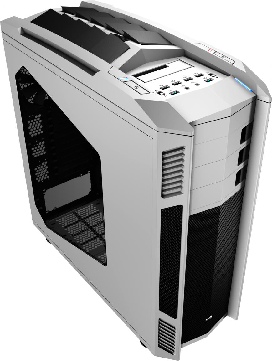 Геймерский корпус AeroCool Xpredator 2 получил внешний слот для HDD