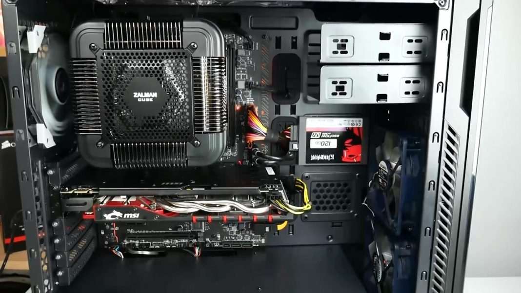Игровой компьютер за 15000 рублей в 2018 году