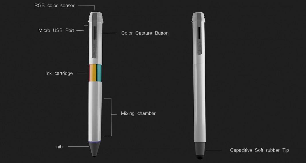 Владельцу ручки Scribble Pen доступно 16 миллионов оттенков
