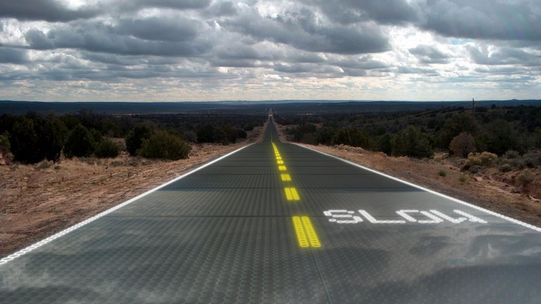 Когда мы будем ездить на солнечных дорогах?