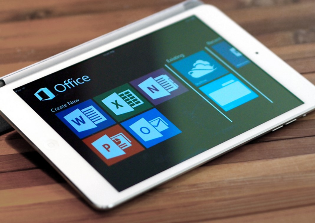 За возможность редактировать документы Office 365 на iPad Pro придется платить