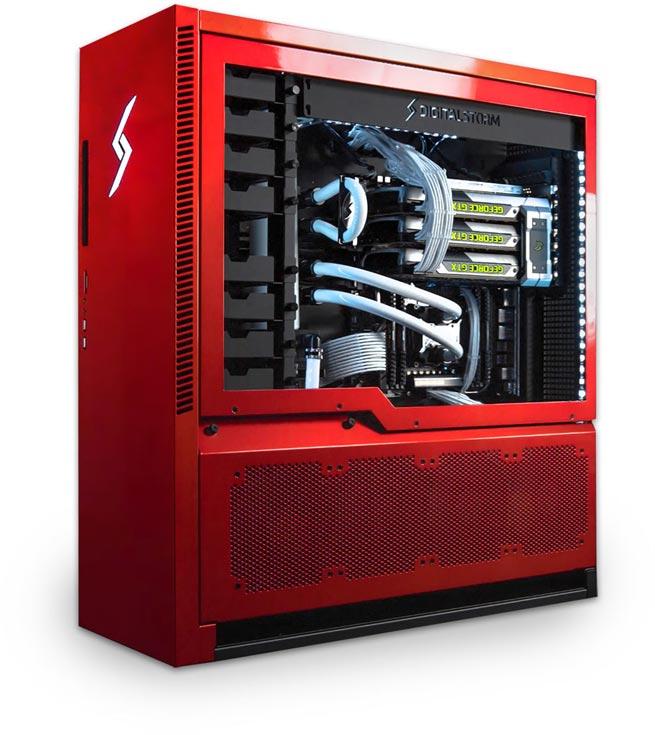 Компьютер Digital Storm Aventum 3 обойдется по цене подержанного автомобиля