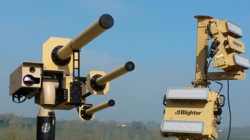 Система Auds позволит расправиться с дронами-нарушителями