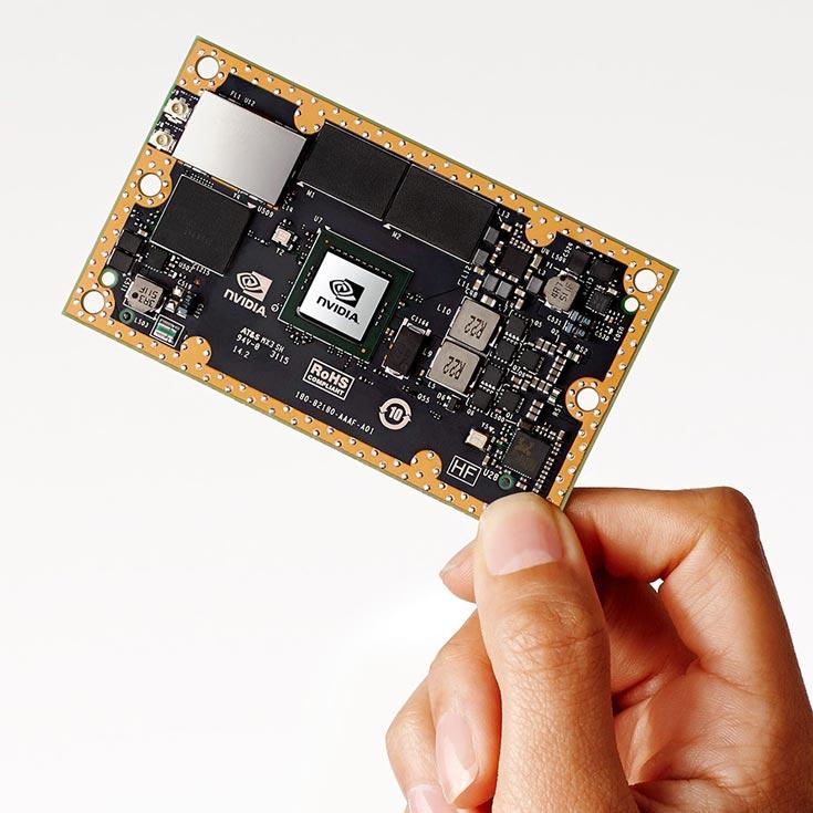 Nvidia называет модуль Jetson TX1 суперкомпьютером, который позволит наделить новое поколение роботов и доронов искусственным интеллектом