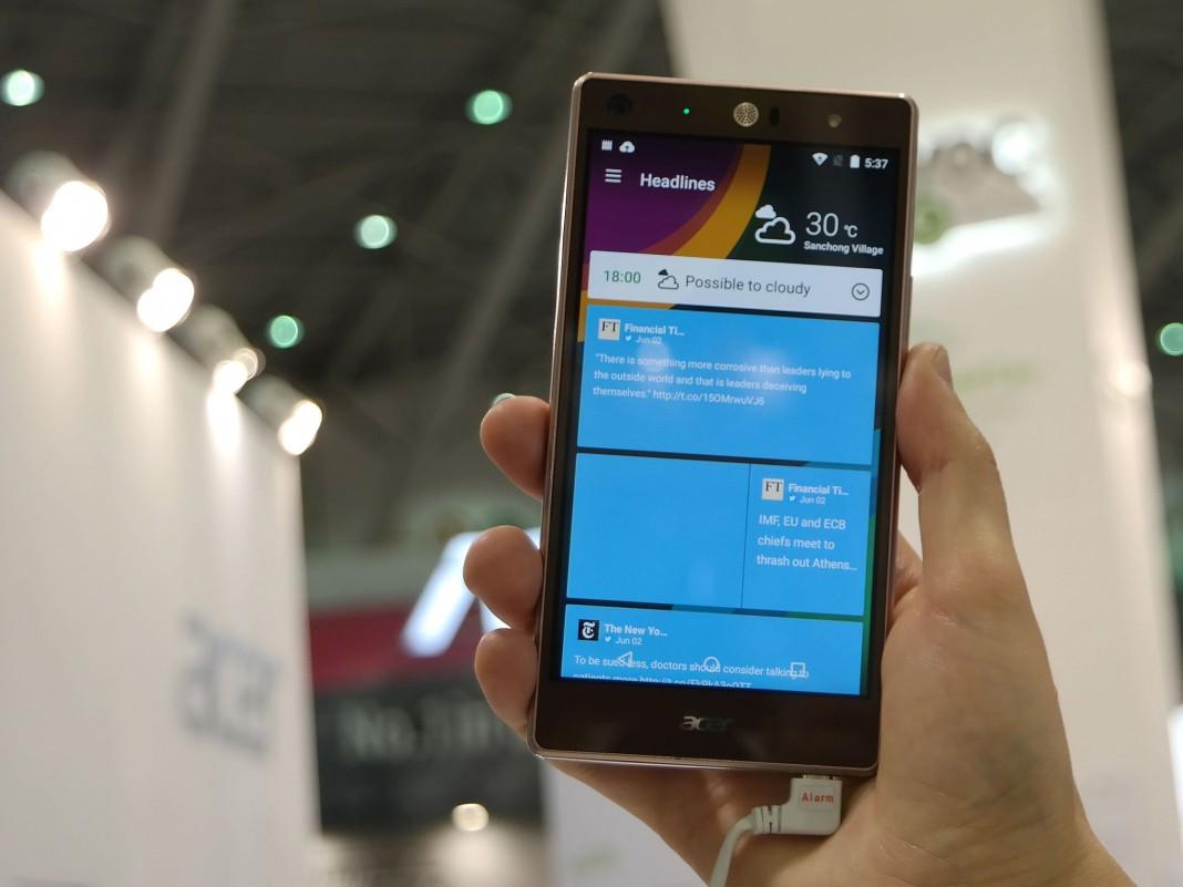Acer подтвердила выпуск трехсимочного Liquid X2