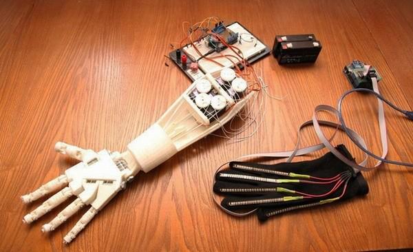 В России разработана продвинутая кибернетическая рука