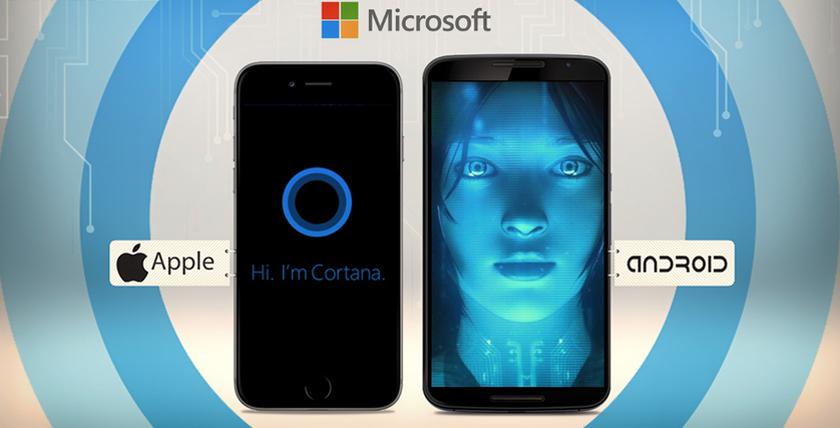Microsoft выпустил Cortana для iOS и Android