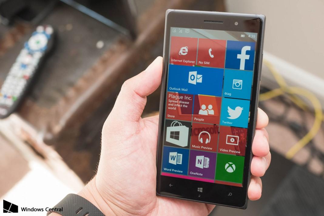 Обновление Windows 10 Mobile отложено до 2016 года