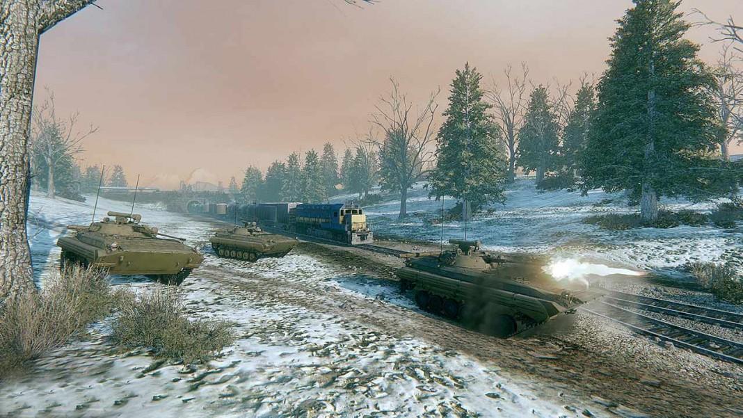 В Armored Warfare пришли ледяные танки