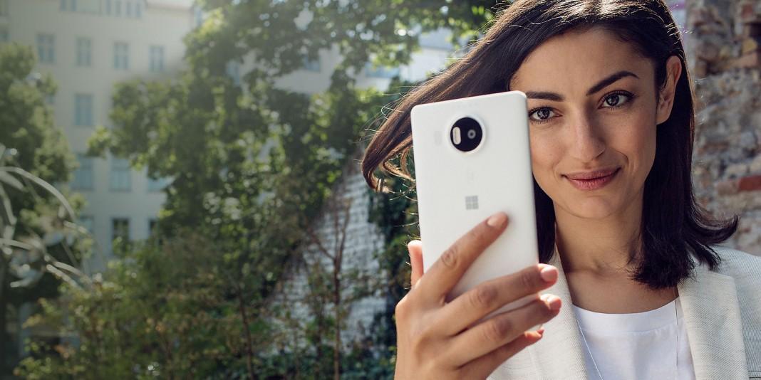 Microsoft Lumia 950 XL: биометрическая аутентификация Windows Hello