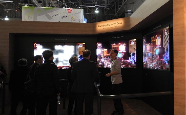 Sony разработала для телевизоров технологию подсветки Backlight Master Drive, которая позволит конкурировать с моделями OLED