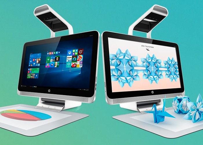 HP выпустила компьютер Sprout Pro для школьников, студентов и творческих работников