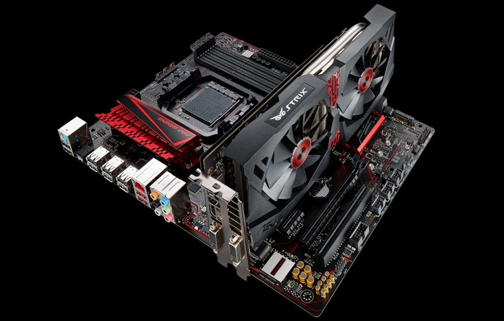 Системная плата Asus 970 Pro Gaming/Aura оснащена светодиодной подсветкой и множеством портов USB