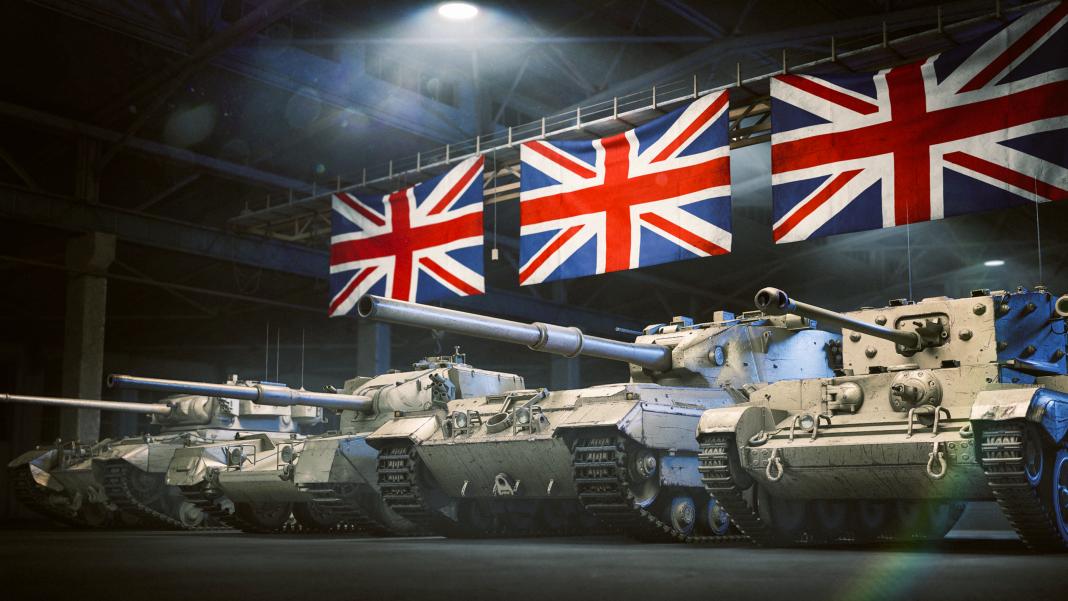 В World of Tanks на PlayStation 4 появились британские танки и новые карты
