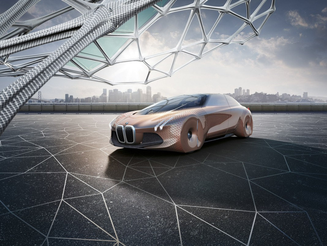 BMW Vision Next 100 — представление об автомобиле будущего