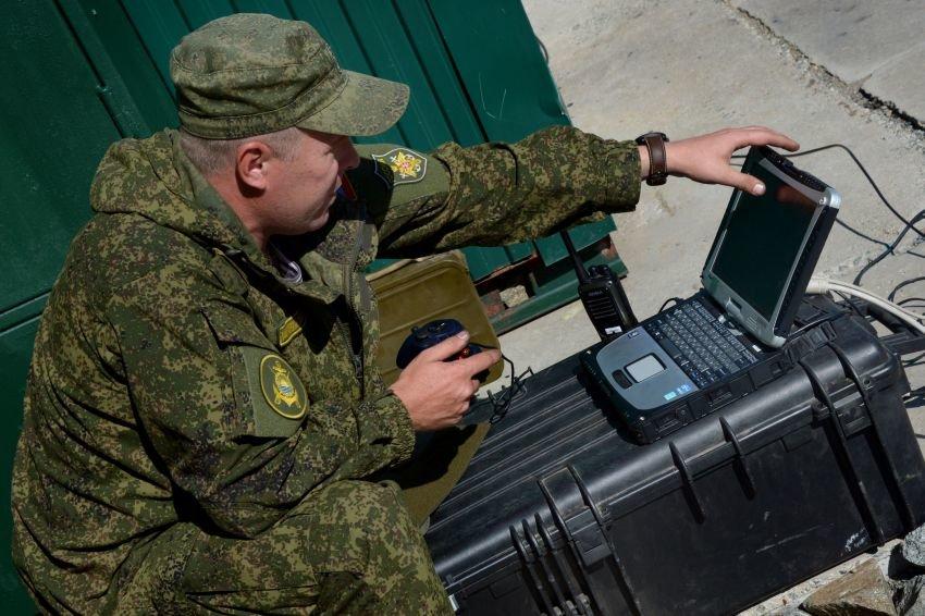 Российская армия испытала в Сирии военный интернет