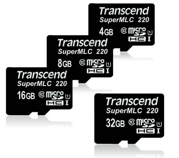 Transcend выпустила линейку карт памяти SuperMLC microSD для промышленного использования