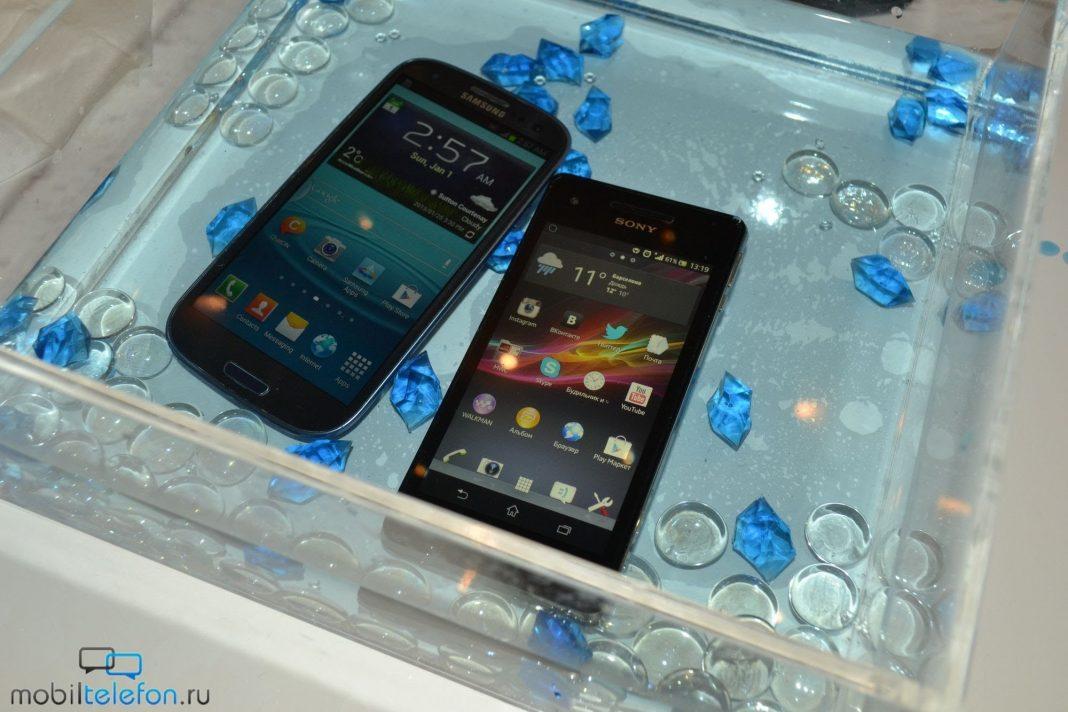 Samsung лицензировала супергидрофобное покрытие стекол для своей техники