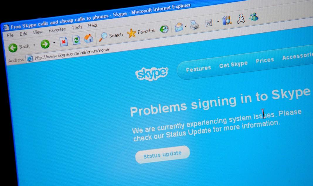 Разработчики: масштабный сбой в работе Skype произошел из-за слишком большого обновления