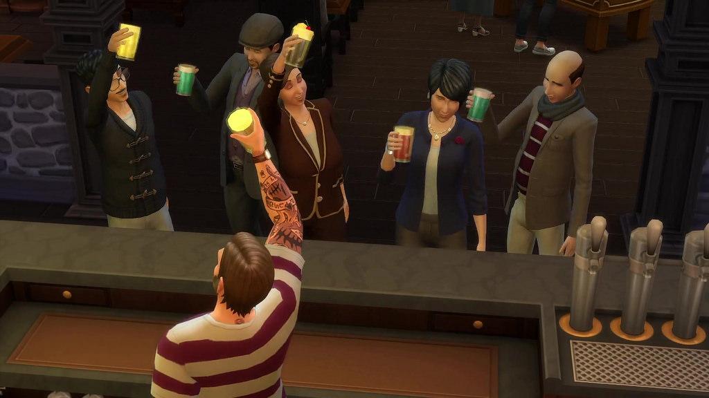Клубы по интересам появятся в Sims 4 в декабре