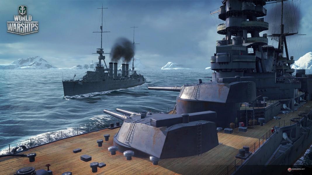 В военно-морской экшн World of Warships добавили советские эсминцы и немецкие крейсеры