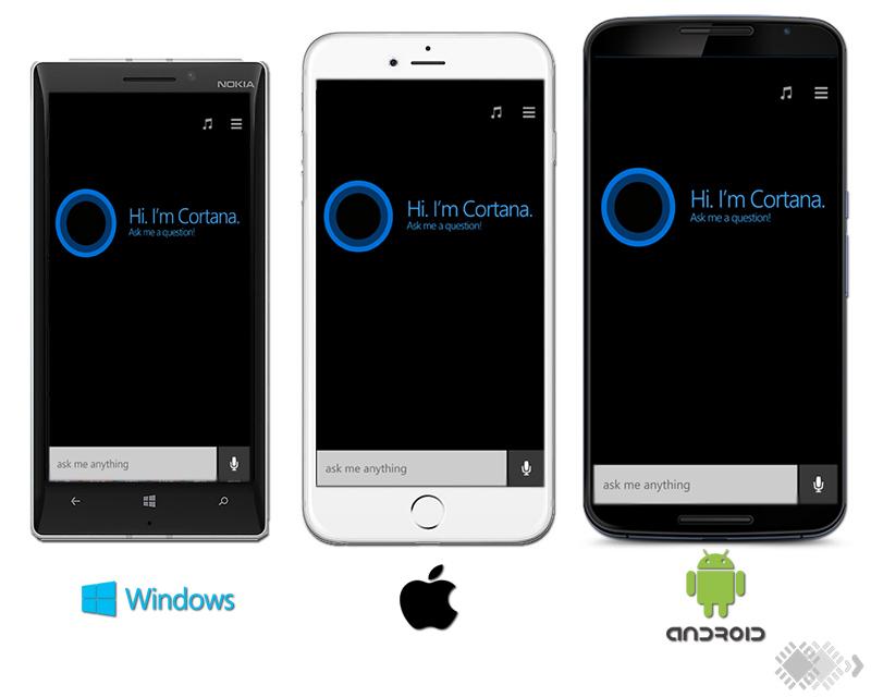 Microsoft начала тестировать Cortana на iOS