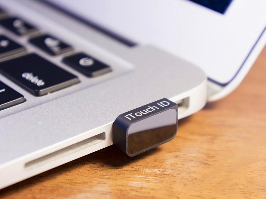 iTouch ID избавит от ввода паролей на ноутбуке