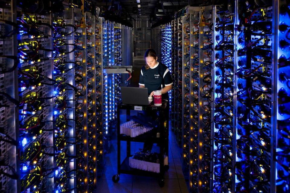 В России началось строительство дата-центра для Goolge и Facebook