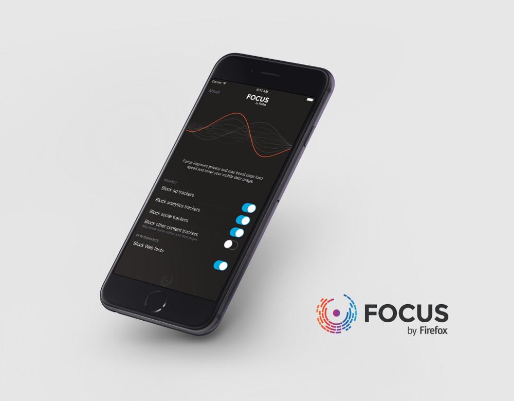 Mozilla выпустила блокировщик рекламы Focus для iOS