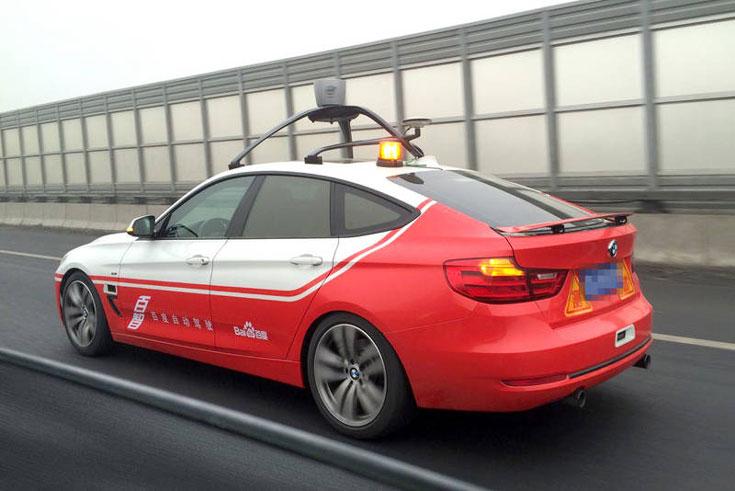 Робомобиль Baidu успешно прошел тесты на дорогах общего пользования