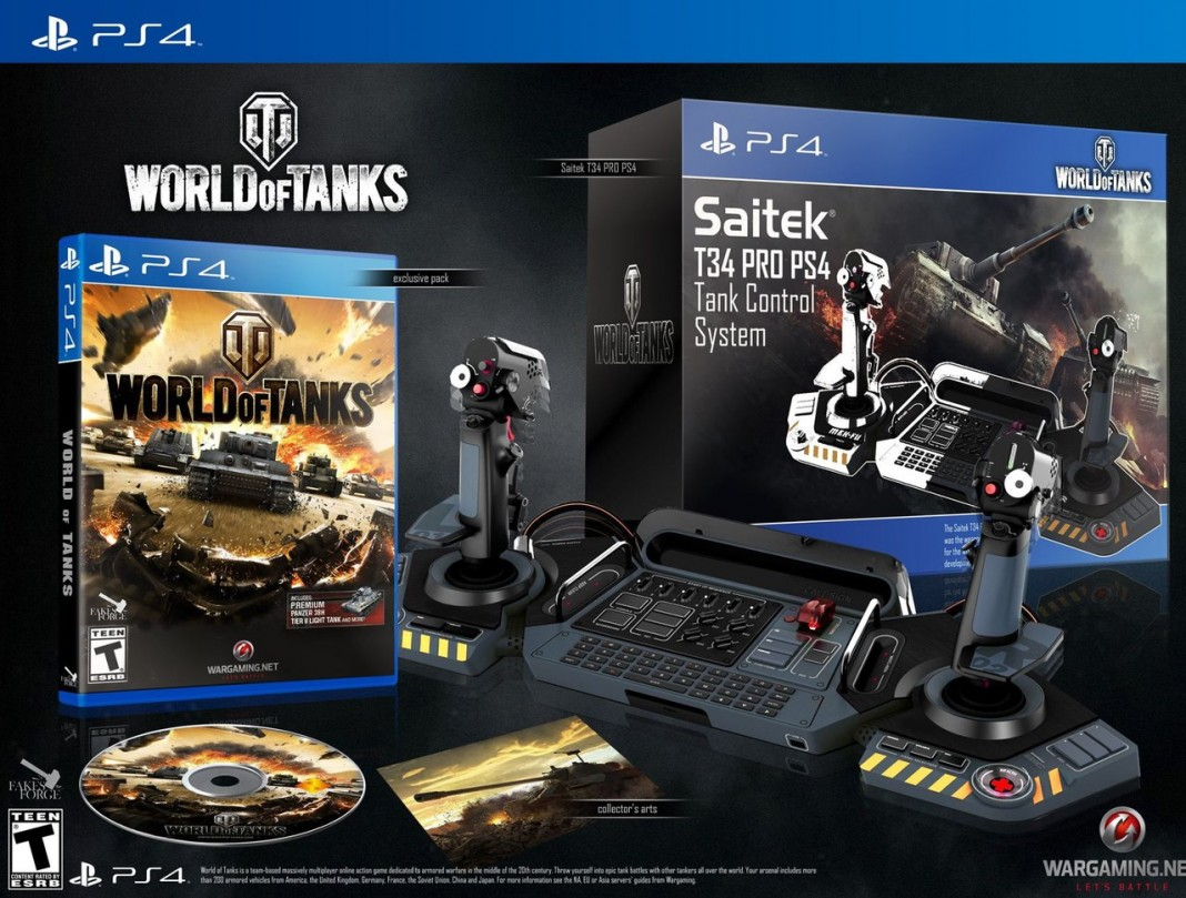 Релиз World of Tanks на PlayStation®4. Обойма эксклюзива