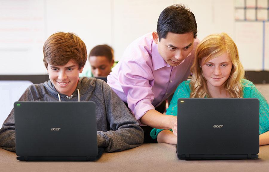 Acer представила ноутбук TravelMate B117 для обучения