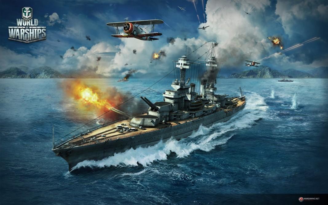 Состоялся релиз военно-морского экшна World of Warships