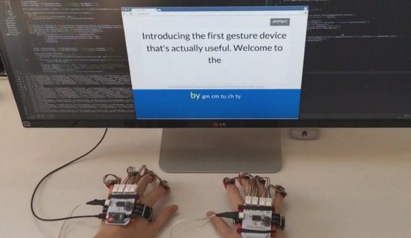 Устройство для управления компьютером и мобильными устройствами Gest должно заменить мышь и клавиатуру
