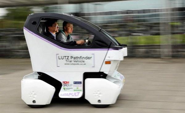 Беспилотный электромобиль Lutz Pathfinder практически готов к испытаниям