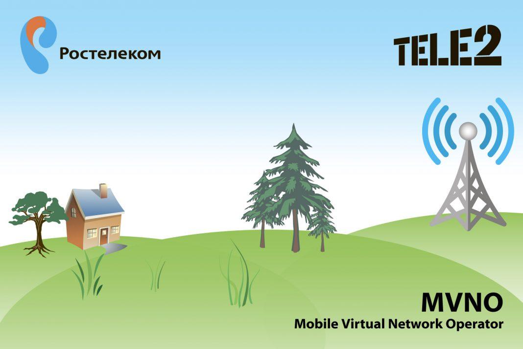 «Ростелеком» запустил виртуального оператора на сети Tele2