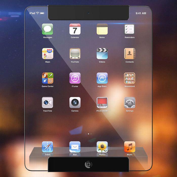 Для пешеходов Apple придумал прозрачный телефон