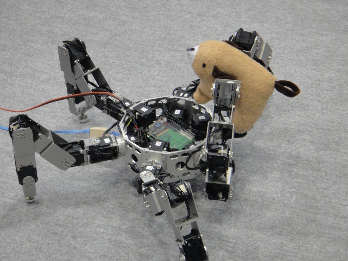 робот-паучок Asterisk