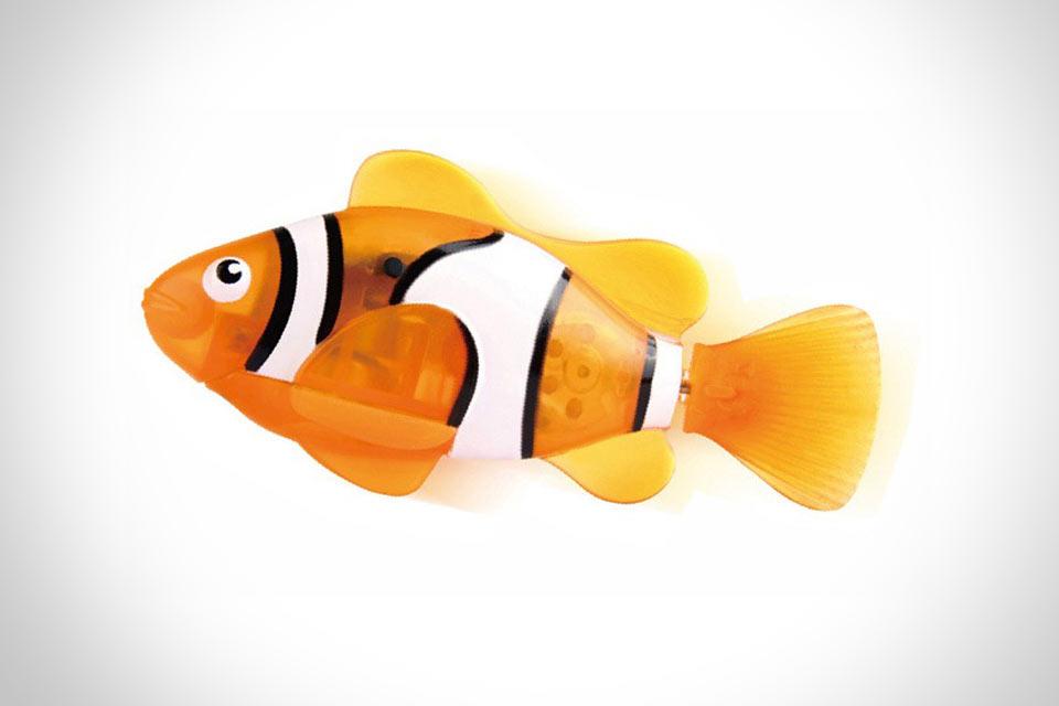 робот-рыбка