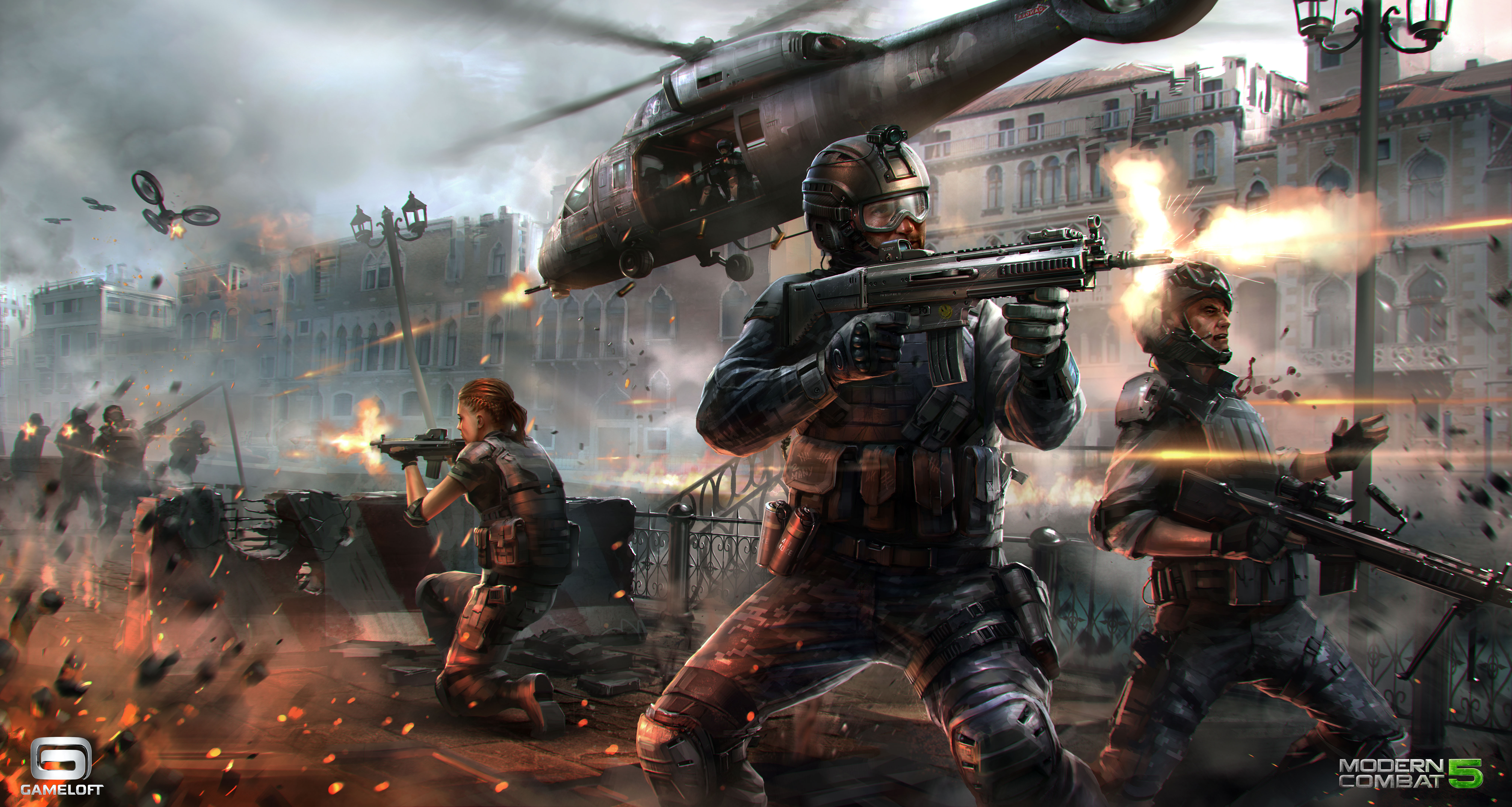Gameloft pc games online