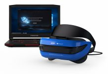 Microsoft показала шлемы Windows Mixed Reality от ASUS, Dell и Lenovo