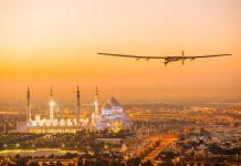 Стратосферный самолёт на солнечных батареях впервые полетел